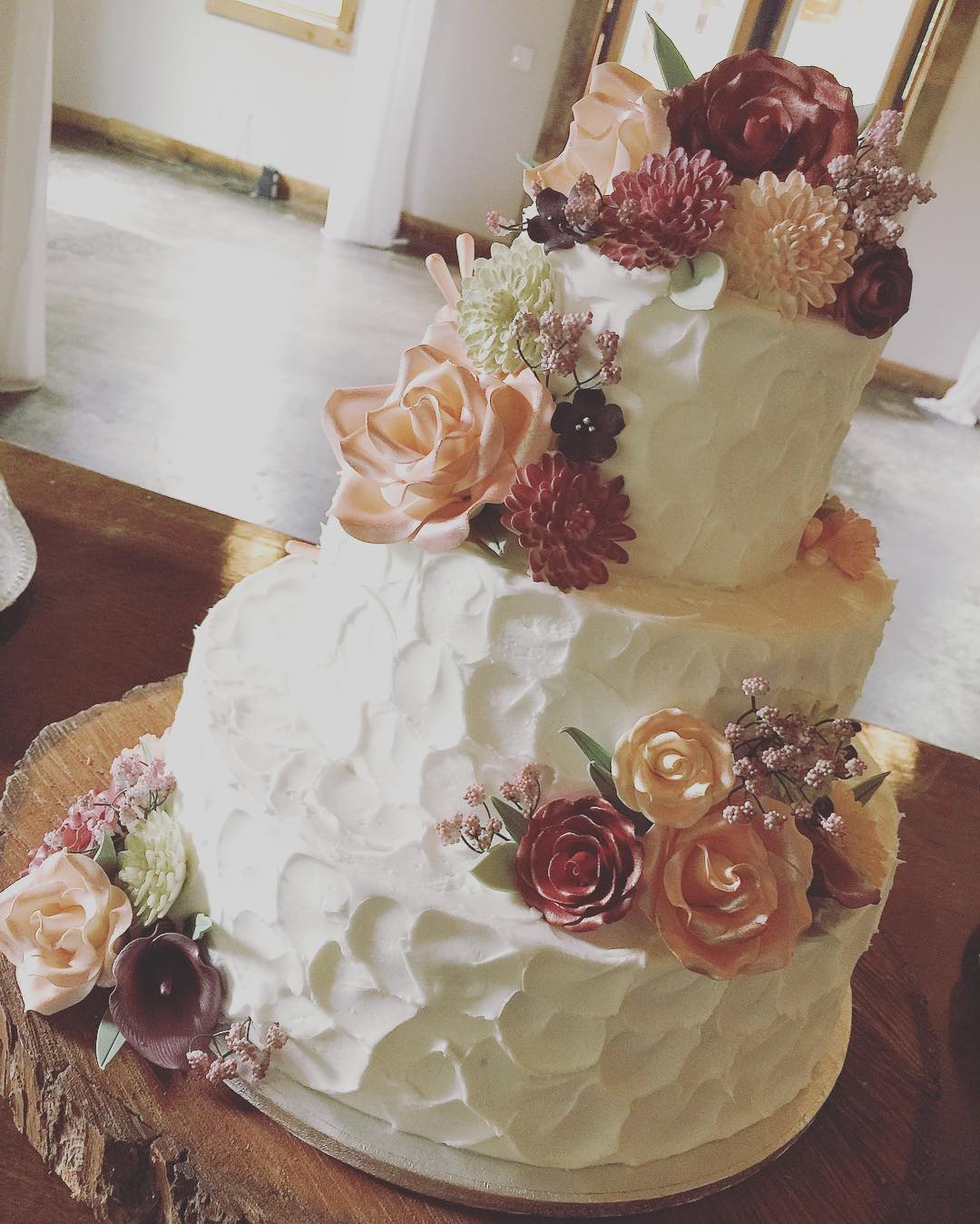 Beautiful Wedding Cakes By The Baking Grounds Bakery Café: Gallery Of Anniversary Cakes By The Baking Grounds Bakery Café