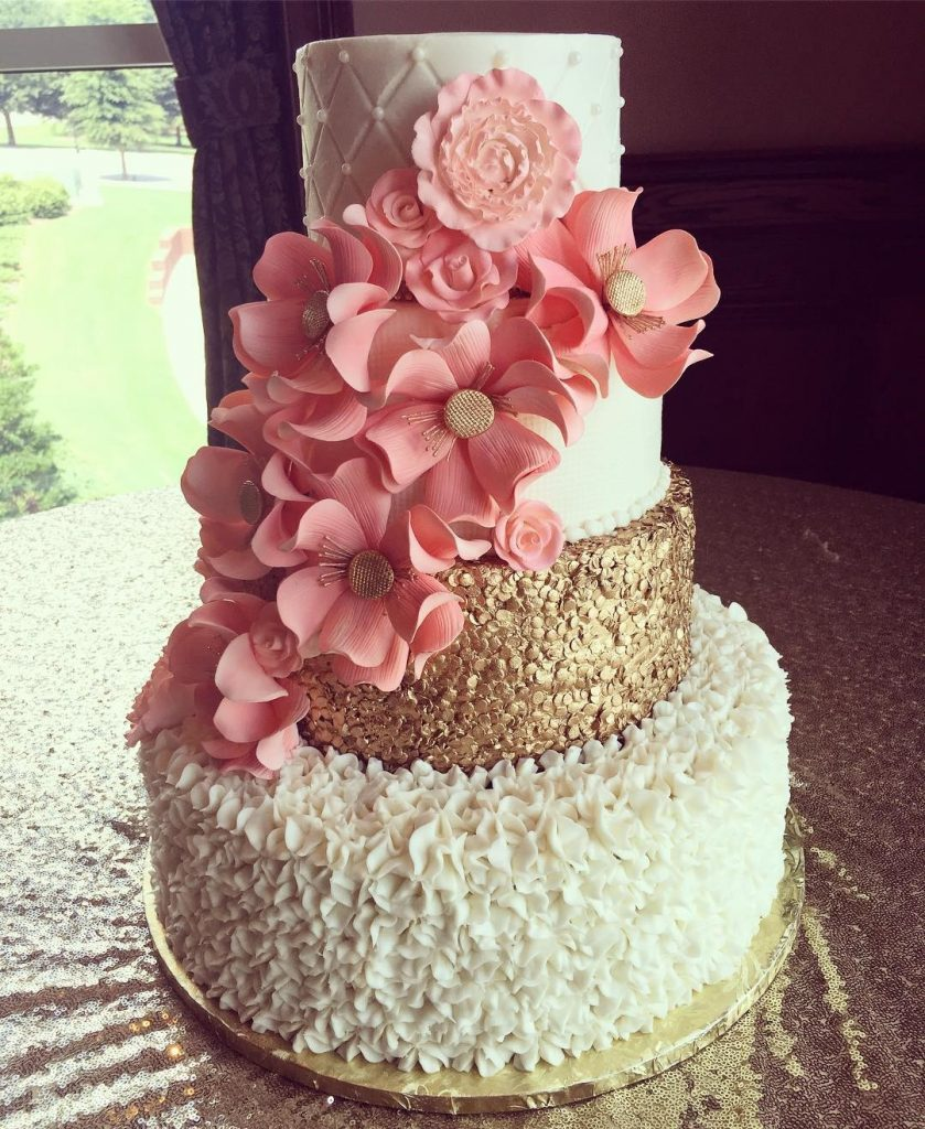 Wedding Cakes: Wedding Cakes And Custom Cake Orders With Pastries And A