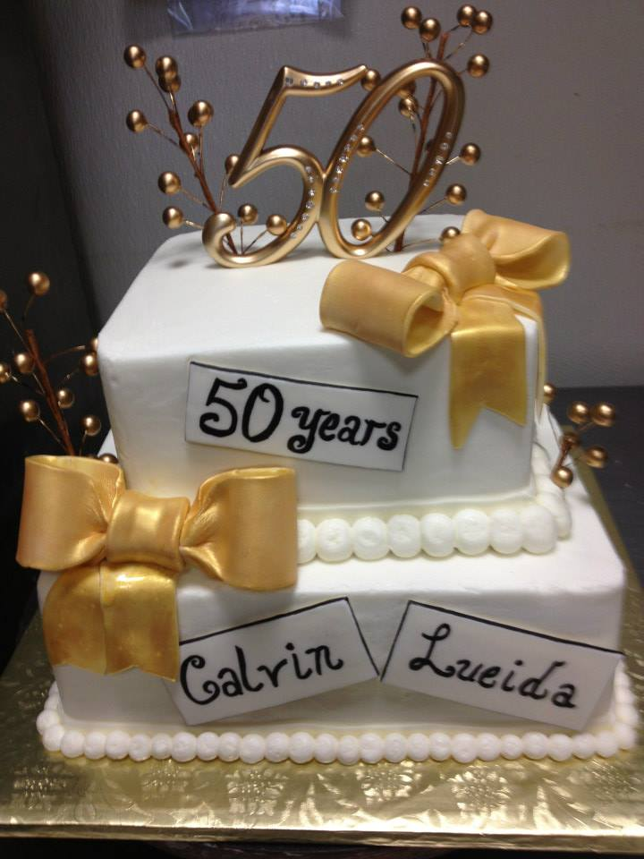 Custom Anniversary Cakes By The Baking Grounds Bakery Cafe