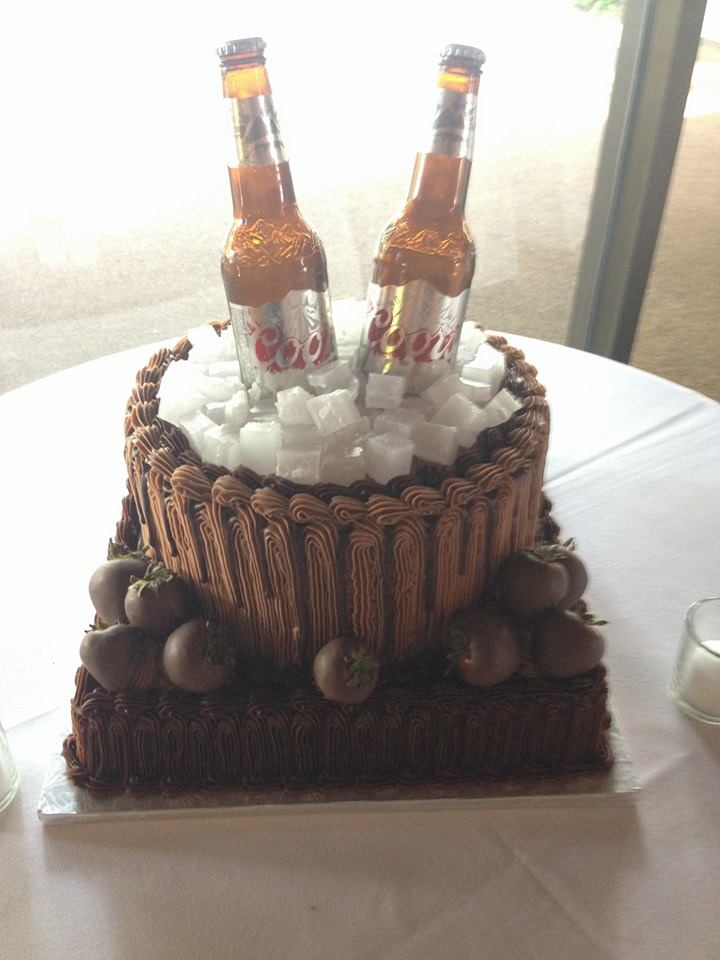 Customized Groom Cakes By The Baking Grounds Bakery Caf 233